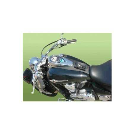 (54372) Cubredeposito Piel Con Tachuelas Harley Davidson Sportster Xlm/Xln/Xl