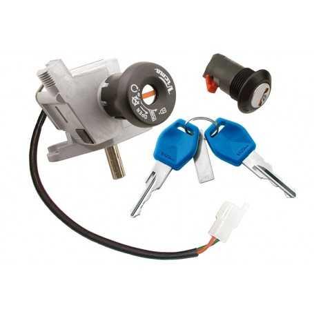 (161550) Juego Cerraduras APRILIA 125 Scarabeo (Motor Rotax) Año: 99-03 Ref: 6563