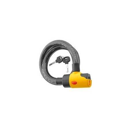 (161735) Candado Espiral Con Alarma Ref: 11820
