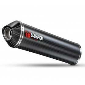 (201351) Escape Scorpion Factory Aprilia RSV 1000 (03-08) Carbono/Carbono Redondo Ref: 20683
