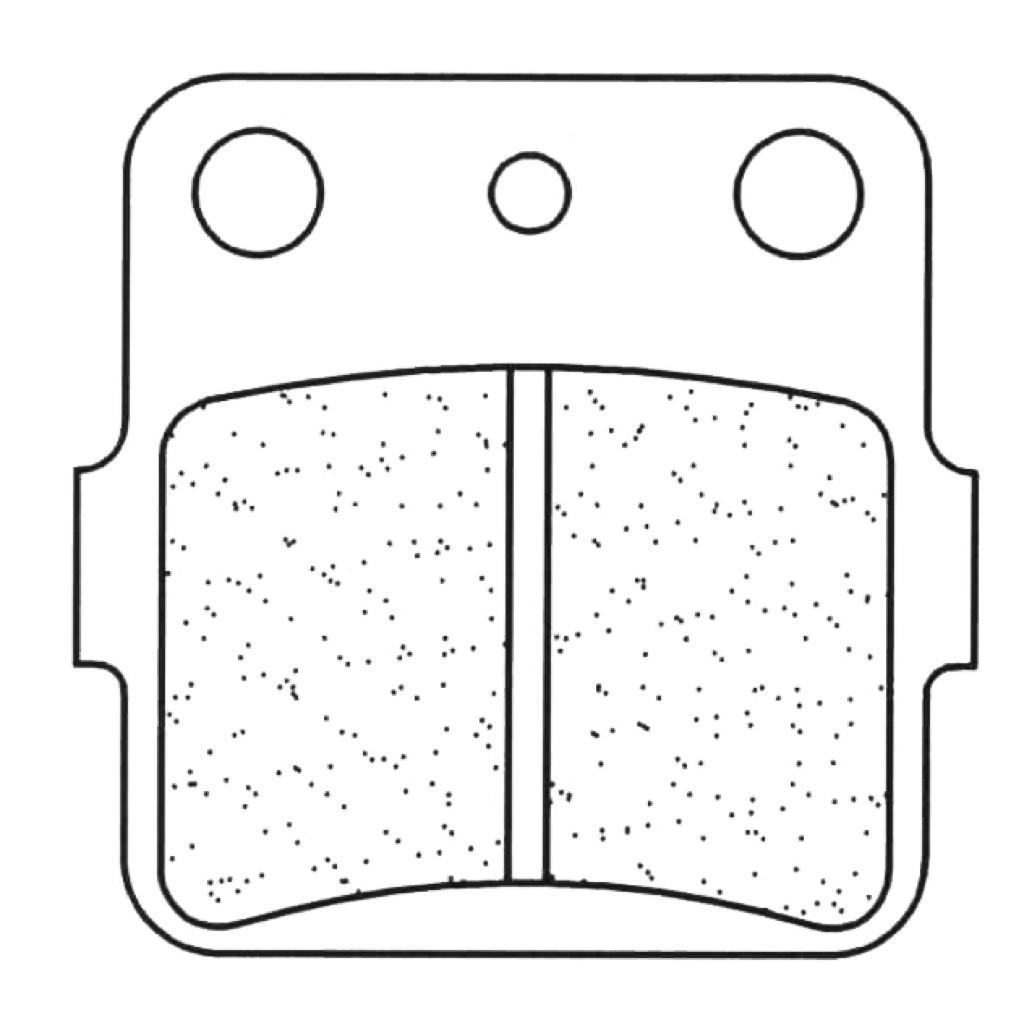 288156-Juego-Pastillas-Freno-KAWASAKI-KXF-A1-A2-Tecate-250-Ano-87-88-Traseras