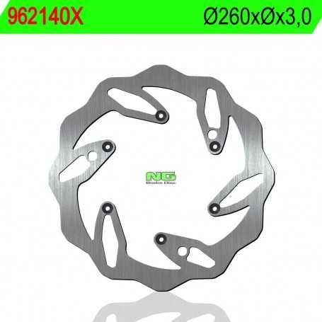 (176057) DISCO FRENO NG KTM SX 4M 520CC AÑO 01-02 DELANTERO ONDULADO
