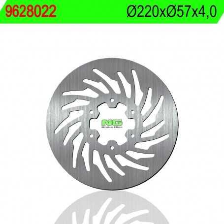 (177586) DISCO FRENO NG MH RX R 125CC AÑO 07-13 TRASERO STANDARD