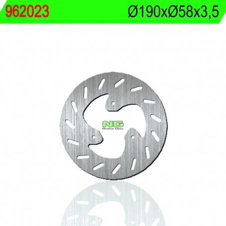 (177593) DISCO FRENO NG MONDIAL XR7 50CC AÑO 99 DELANTERO STANDARD