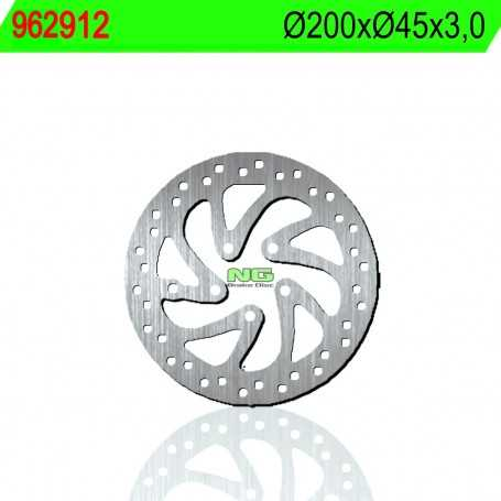 (178628) DISCO FRENO NG POLINI X1 MINIMOTARD RACING H2O 50CC AÑO 07-12 DELANTERO STANDARD
