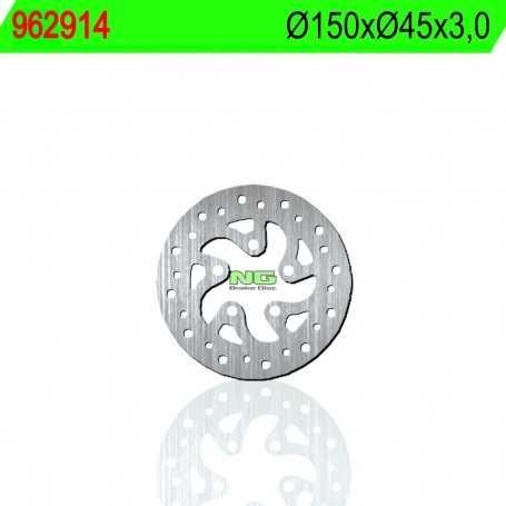 (178641) DISCO FRENO NG POLINI X1 MINIMOTARD RACING H2O 50CC AÑO 07-12 TRASERO STANDARD