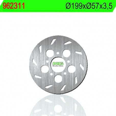 (178845) DISCO FRENO NG RIEJU RS 1 CASTROL SERIES 50CC AÑO 01 TRASERO STANDARD