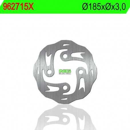 (178936) DISCO FRENO NG SCORPA TWENTY 280CC AÑO 14 DELANTERO ONDULADO