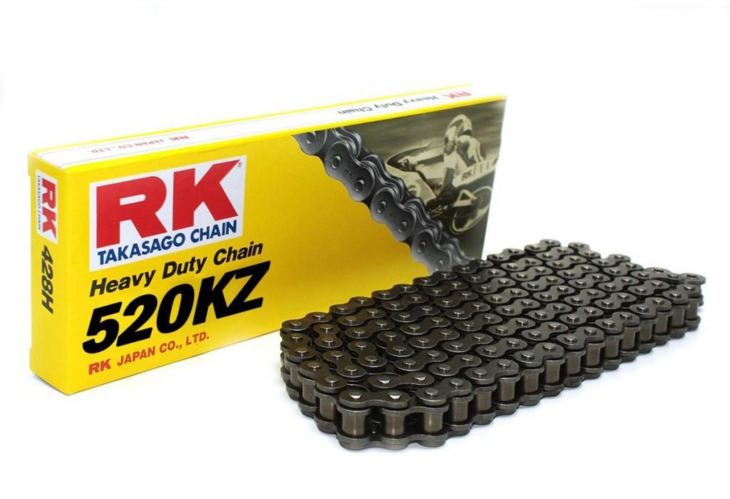 (274896) Cadena Moto RK 520KZ con 120 eslabones negro