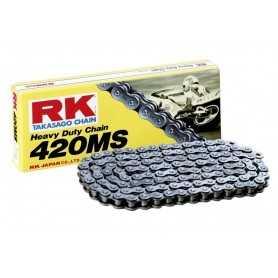 (274176) Cadena Moto RK 420MS con 30 eslabones negro