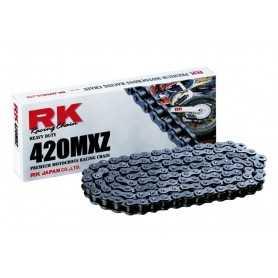 (274258) Cadena Moto RK 420MXZ con 30 eslabones negro