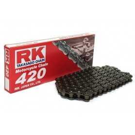 (274137) Cadena Moto RK 420M con 60 eslabones negro