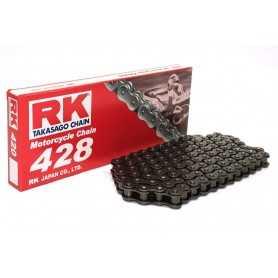 (274485) Cadena Moto RK 428M con 30 eslabones negro