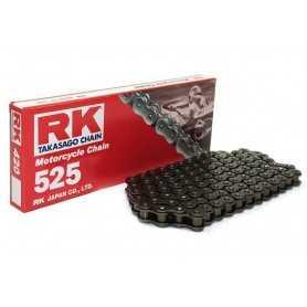 (275304) Cadena Moto RK 525M con 30 eslabones negro