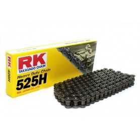 (275187) Cadena Moto RK 525H con 30 eslabones negro
