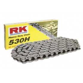 (275499) Cadena Moto RK 530H con 30 eslabones negro