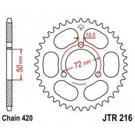 (281128) Corona JT 216 de acero con 36 dientes
