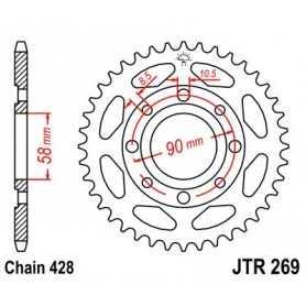 (281214) Corona JT 269 de acero con 34 dientes