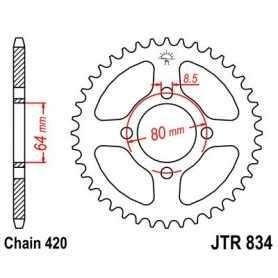 (281699) Corona JT 834 de acero con 37 dientes