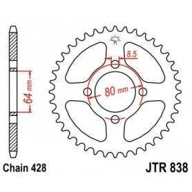(281712) Corona JT 838 de acero con 36 dientes