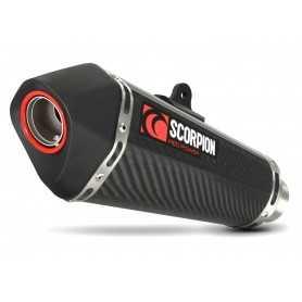 (369847) Escape Scorpion BMW F 800 GT (13-), F 800 R (13-) Serket Paralelo Carbono