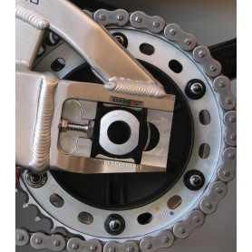 (369849) Tuerca De Corona 10Mm X 1,25 (6 Unidades) Aluminio Negro Pro-Bolt Spn10Bk
