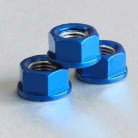 (369876) Tuerca De Aluminio Pro-Bolt 10Mm Azul Lspn10B