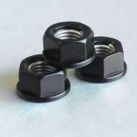 (369864) Tuerca De Aluminio Pro-Bolt 10Mm Negro Lspn10Bk