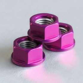 (369867) Tuerca De Aluminio Pro-Bolt 10Mm Violeta Lspn10P