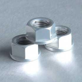 (369868) Tuerca De Aluminio Pro-Bolt 10Mm Plata Lspn10S