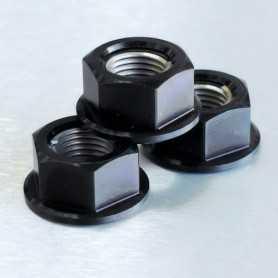 (369870) Tuerca De Aluminio Pro-Bolt 12Mm Negro Lspn12Bk