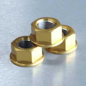 (369871) Tuerca De Aluminio Pro-Bolt 12Mm Oro Lspn12G