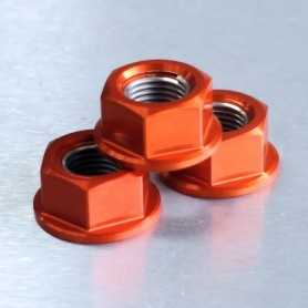 (369872) Tuerca De Aluminio Pro-Bolt 12Mm Naranja Lspn12O