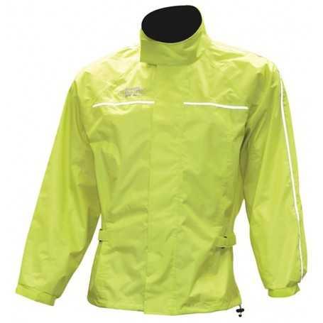 (406523) Chaqueta chubasquero fluorescente. T:L Oxford RM110L