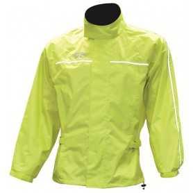 (406525) Chaqueta chubasquero fluorescente. T:S Oxford RM110S