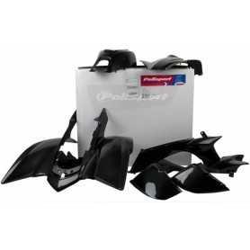 (414504) Kit plástica completo Polisport Yamaha ATV color negro 90074