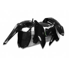 (414892) Kit plástica completo UFO restyling Yamaha negro YAKIT312-001