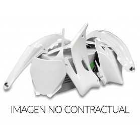 (414970) Kit plástica completo UFO Yamaha blanco YAKIT317-046