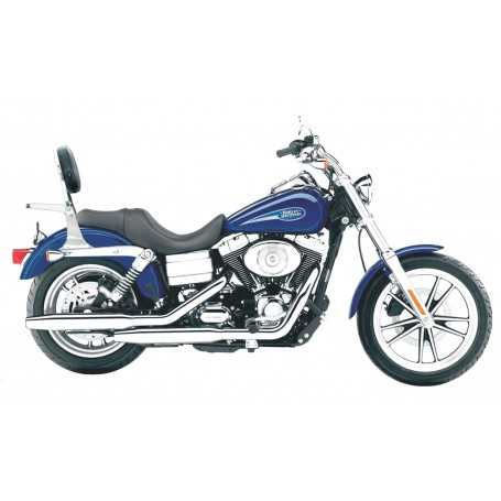 (54224) Respaldo Con Porta Harley Davidson Dyna Glide 2001
