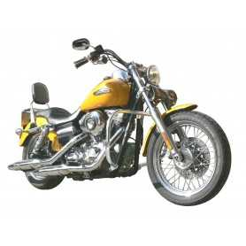 (54233) Protector De Motor (Defensa) Negro (Tubo diametro 30 Mm) Harley Dyna (Desde 20