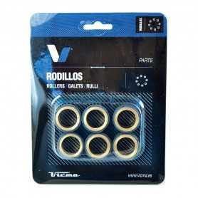 (419922) Juego Rodillos Variador Tecnium HONDA SH Scoopy 125 Año 01-04 Ø20x17 - 10,0GR