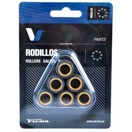(420308) Juego Rodillos Variador Tecnium HONDA NSC Vision 110 Año 12-16 Ø18x14 - 14,0GR