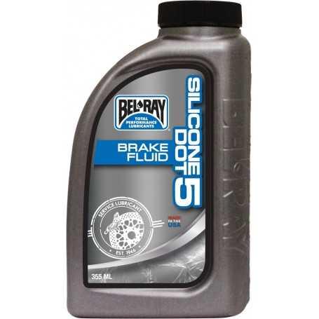 (420820) Botella 355 ml Liquido Frenos Bel-Ray Silicone DOT 5
