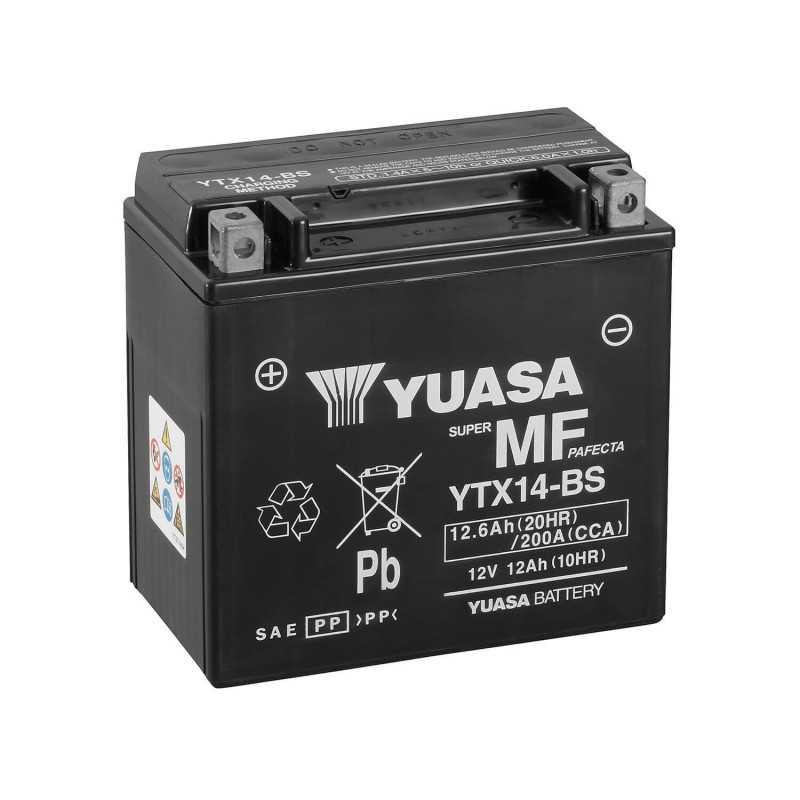 Batterie Honda XRV750 Africa Twin RD07 Bj 1996 YUASA YTX14-BS AGM
