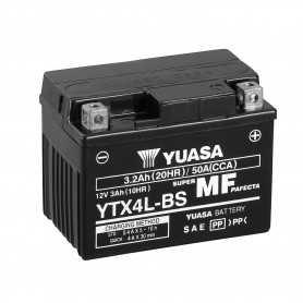 (432667) Bateria Yuasa MBK YE Evolis 50 Año 92-95 (YTX4L-BS)