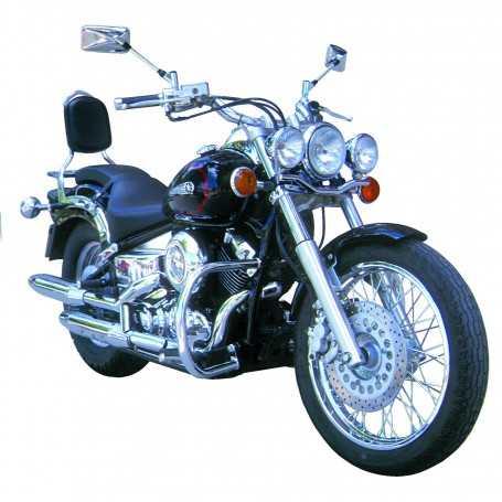 (110391) Protector De Motor (Defensa) Negro (Tubo diametro 30 Mm) Yamaha Drag Star 650