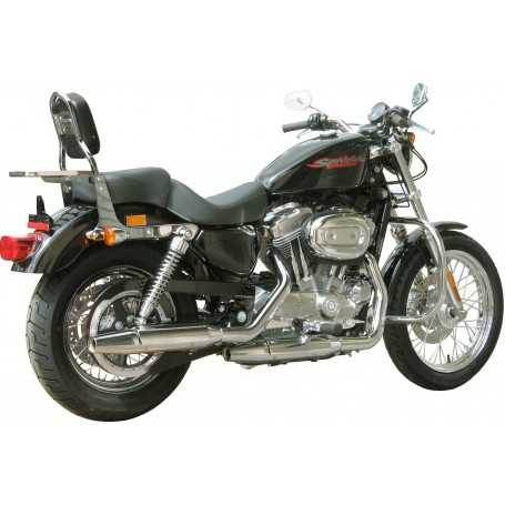 (54377) Protector De Motor (Defensa) Negro (Tubo diametro 30 Mm) Harley Davidson Spor