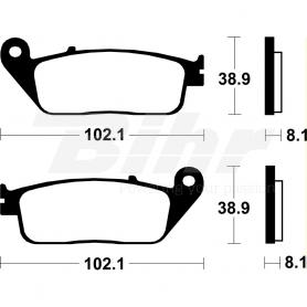 (445874) Pastillas Freno Brembo KYMCO SUPER DINK 125cc Año 10- (Delanteras) 07085CC