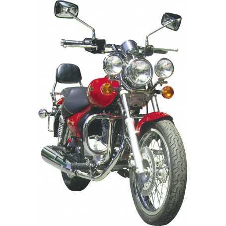 (54761) Protector De Motor (Defensa) Negro (Tubo diametro 30 Mm) Kawasaki Eliminator 1