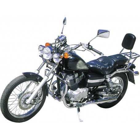 (54443) Protector De Motor (Defensa) Negro (Tubo diametro 30 Mm) Honda Rebel 125/250